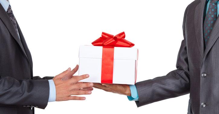 Подарки от частных лиц 193