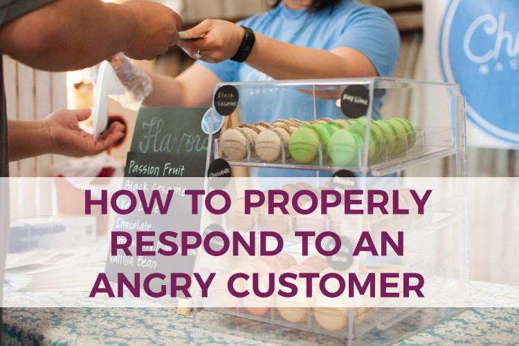 How to Properly Respond to An Angry Customer   Small Business Accounting   Mauzma USA