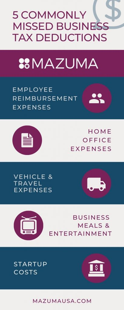 5 Commonly Missed Business Tax Deductions