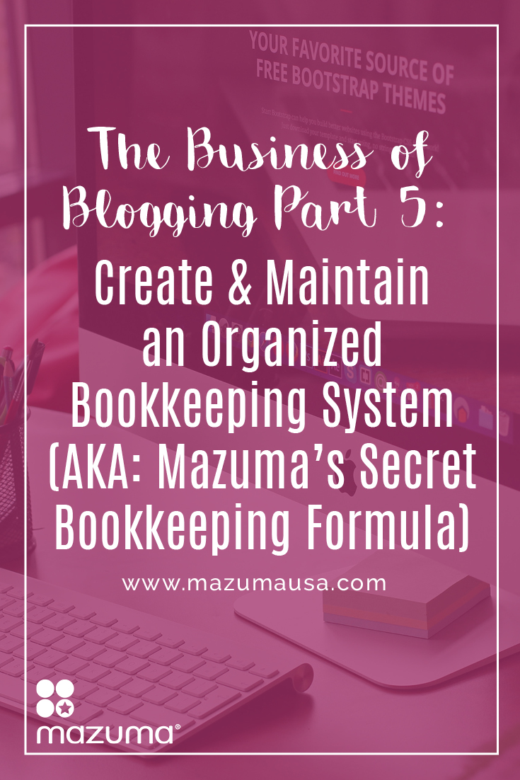 Bookkeeping is an essential business task, but it's rarely a top priority. We're sharing our secret formula to tackle bookkeeping.