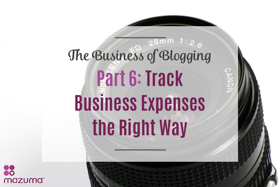As a blogger (and business owner), you need to track your business expenses! Tracking your expenses will help you take the right deductions on your taxes.