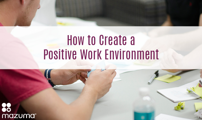 Creating a positive work environment is a essential to a becoming a great business. Businesses that focus on their employees draw the cream of the crop.