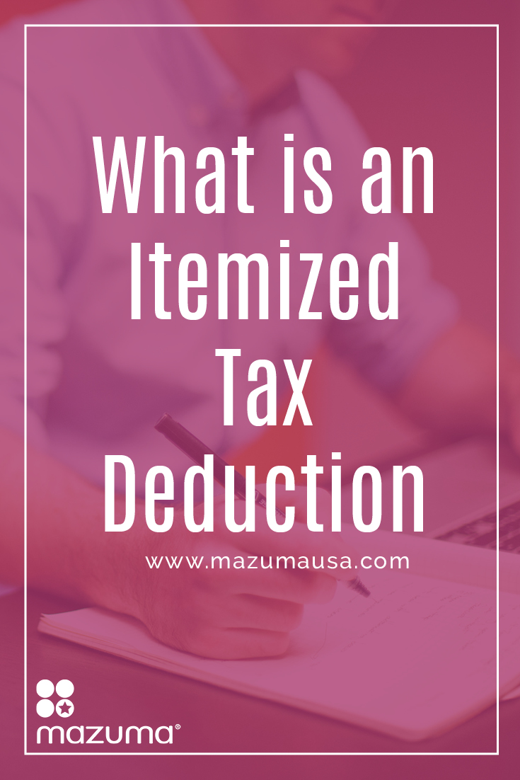 What is an Itemized Tax Deduction? An itemized tax deduction allows you to count all your tax deductions and lower your taxable income.
