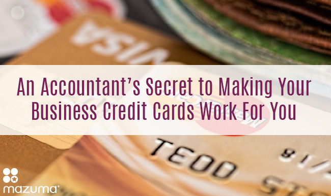 An accountants secret to making your business credit cards work for dont be a slave to the credit card companies learn how to use reheart Choice Image