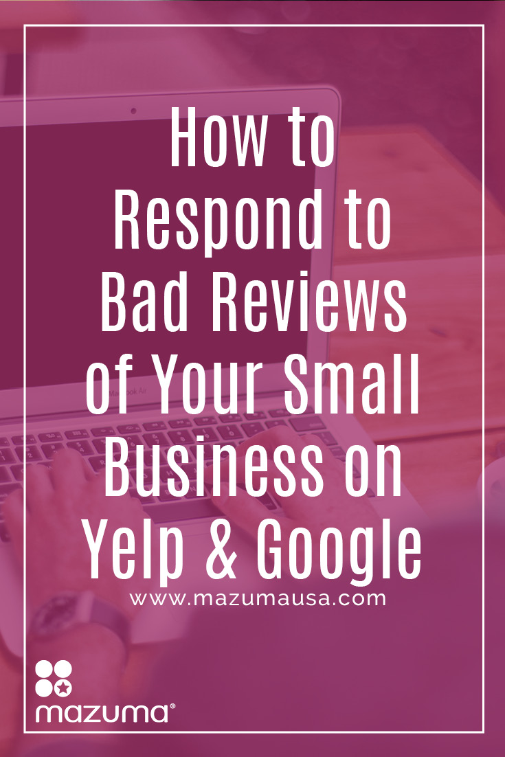 Is the occasional bad review on Yelp or Google dragging your business down? Try these tips next time you're responding to those bad reviews.