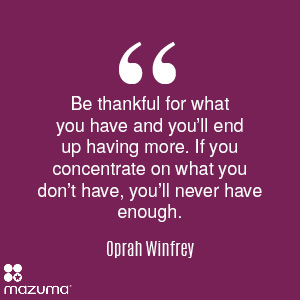 7 Daily Habits for Success: Be Thankful