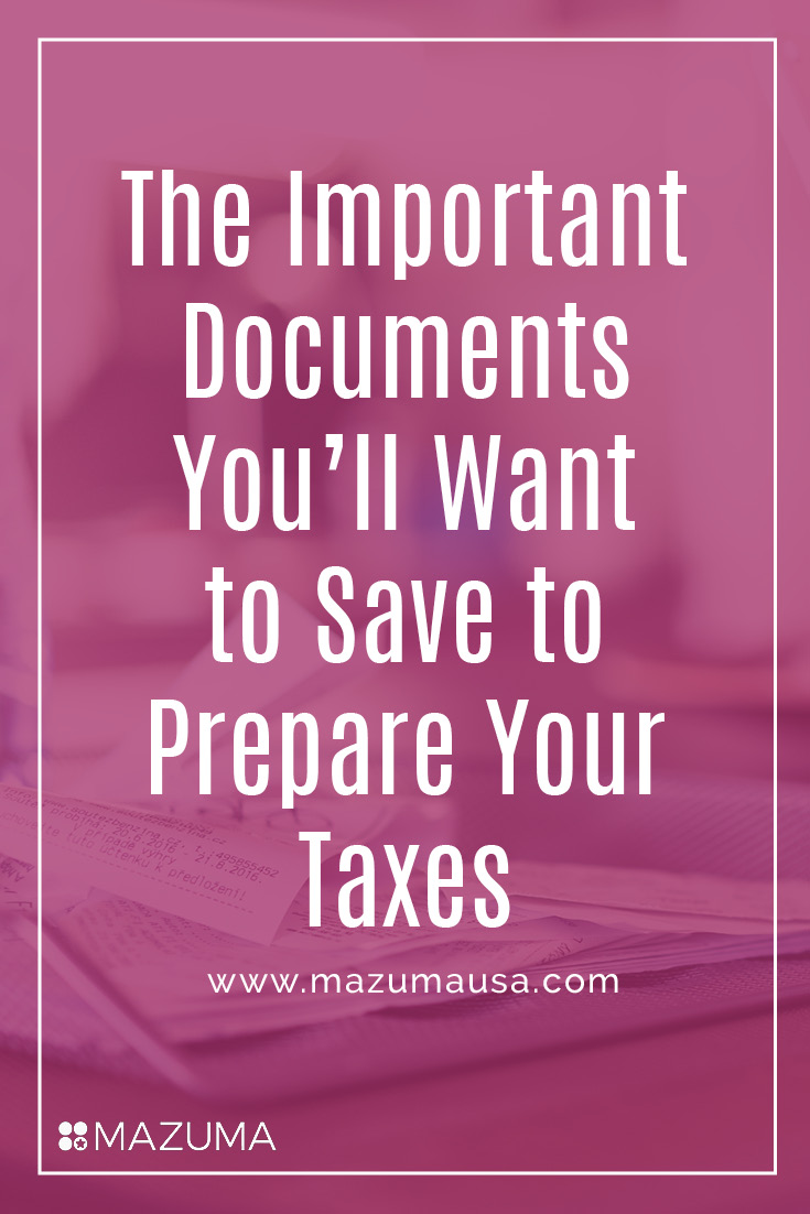It seems like you never know what important documents you need to keep for your taxes. This list will solve that problem. Grab your free copy now!