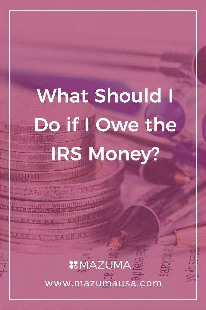 What Should I Do With My Soil: What Should I Do If I Owe The IRS Money?