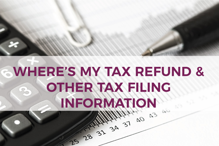 Where's My Tax Refund & Other Tax Filing Information | How to check the status of your tax refund | Mazuma USA | Small Business Accounting & Bookkeeping