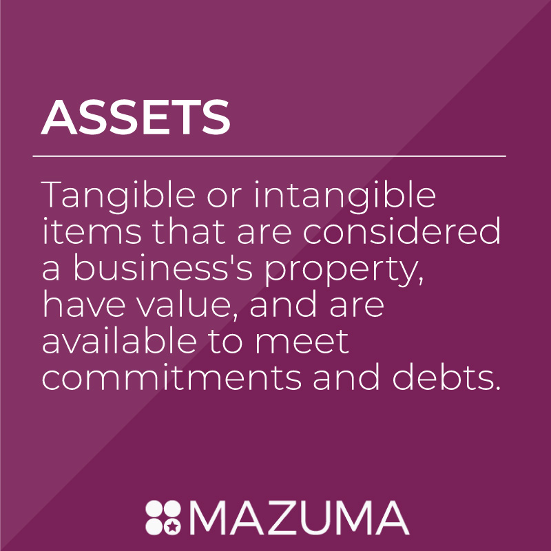 What Are Assets? | Tax & Accounting Advice for Small Business & Entrepreneurs | Mazuma USA