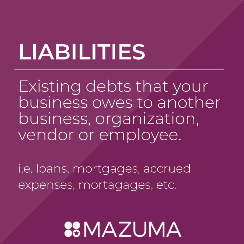 What are Liabilities? | DIY Tax & Accounting for Small Business & Entrepreneurs | Mazuma USA