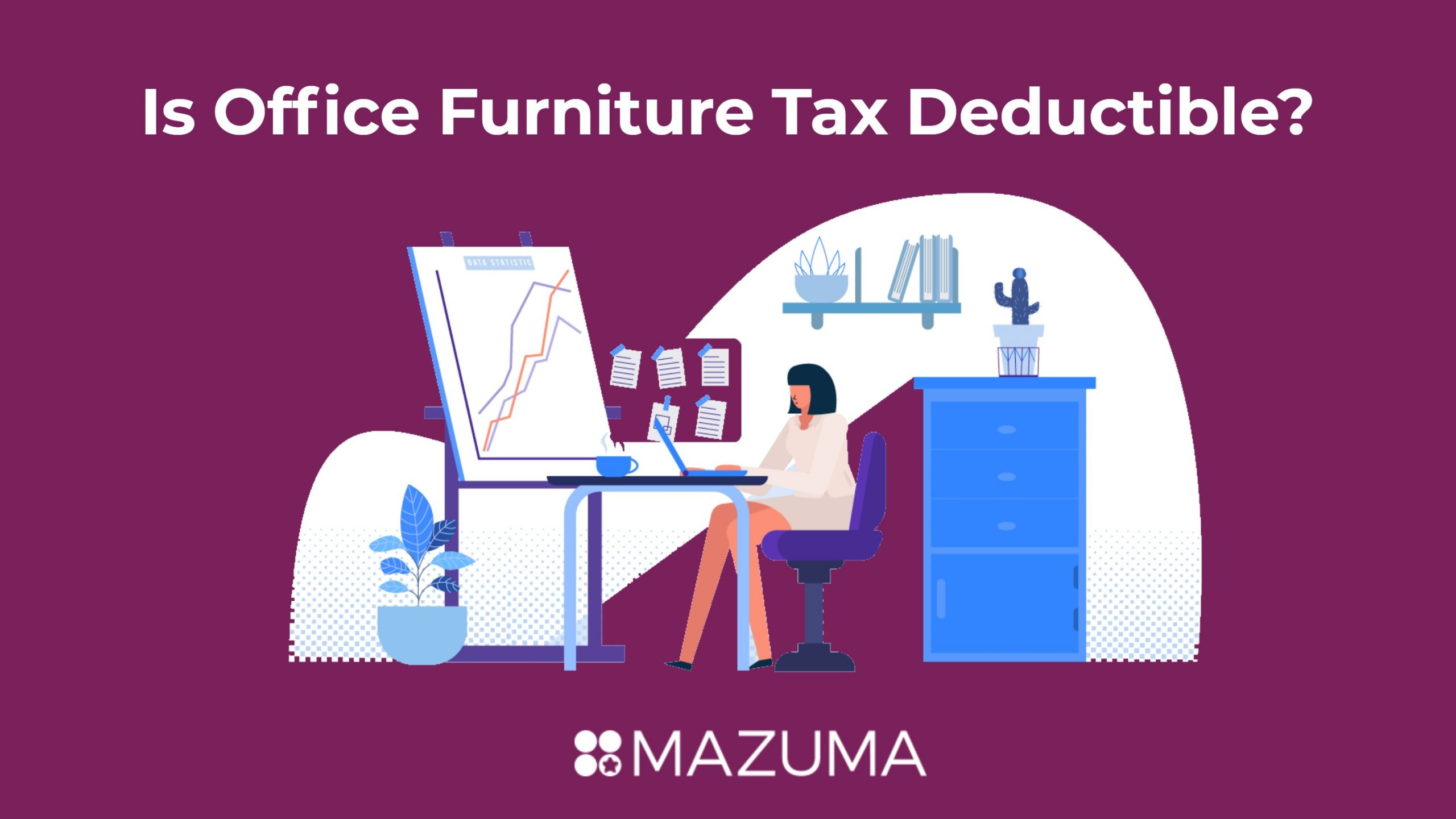Is office furniture tax deductible?